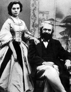 Karl Marx enamorado
