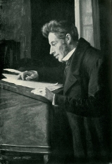 Retrato de S. Kierkegaard